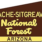 Apache Sitgreaves National Forest Arizona by MyHandmadeSigns