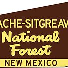 Apache Sitgreaves National Forest New Mexico Park Sign by MyHandmadeSigns