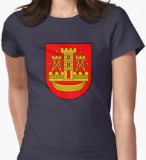 Coat of Arms of Klaipėda, Lithuania Women's Fitted T-Shirt