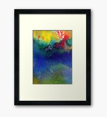 Playful Framed Print