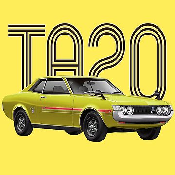 TA20 JDM Classic - Yellow by carsaddiction