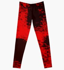 RED MOON WEIRDNESS Leggings
