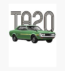 TA20 JDM Classic - Green Photographic Print