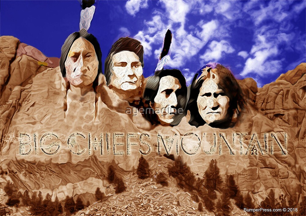 Big Chiefs Mountain by ayemagine