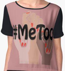 Blusa Yo también, #metoo, acoso sexual, marcha femenina