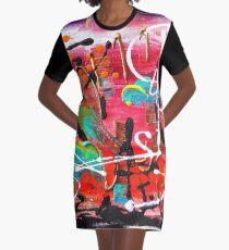 Primavera Graphic T-Shirt Dress