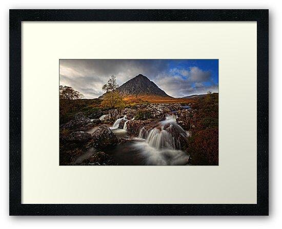 Buachaille Etive Mhor, Highlands, Scotland by Martina Cross