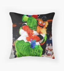 Phanatic and Gritty Throw Pillow