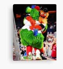 Phanatic and Gritty Canvas Print