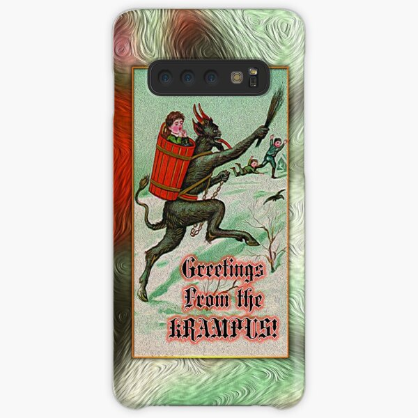 Greetings from the Krampus! Samsung Galaxy Snap Case