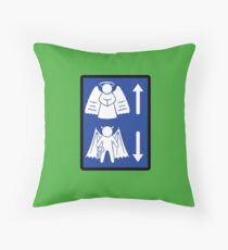 Metaphysical Direction Sign Floor Pillow