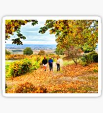 An Autumn stroll in the Dordogne Sticker