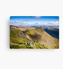 Striding Edge - Helvellyn Canvas Print