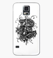 Snake Sword And Roses Great Fashion T-Shirt Case/Skin for Samsung Galaxy