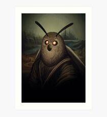 Motha Lisa Art Print