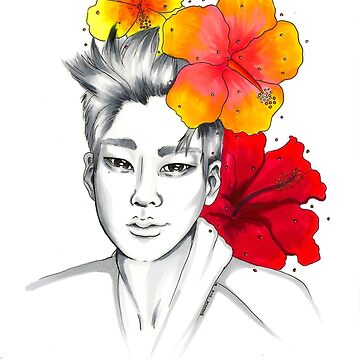 I am your FLOWER BOYFRIEND || Hyunseong  by RainbowHYSTERIA