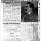 The front page of Pravda on 23 June 1941, including a printed radio speech by Molotov. Pravda, Правда, pravdə, Truth - Russian Broadsheet Newspaper by znamenski
