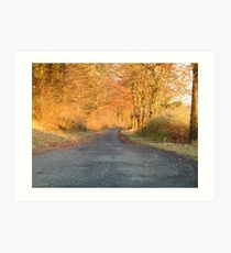 Autumnal North Yorkshire Art Print
