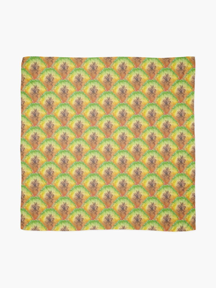 Alternate view of Pure Pineapple Pattern Scarf