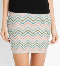 Striped Pattern Mini Skirt
