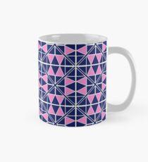 Navy Glow Pattern  Classic Mug