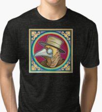Porträt eines Pest-Doktors Vintage T-Shirt
