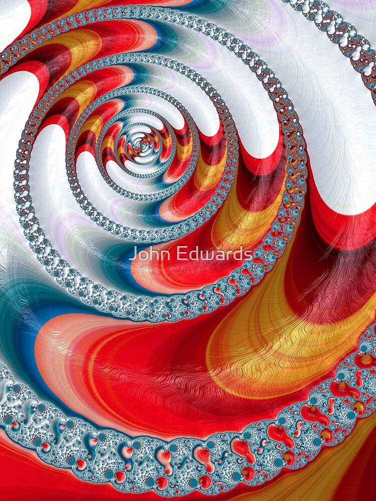 Koi Spiral  by JohnE