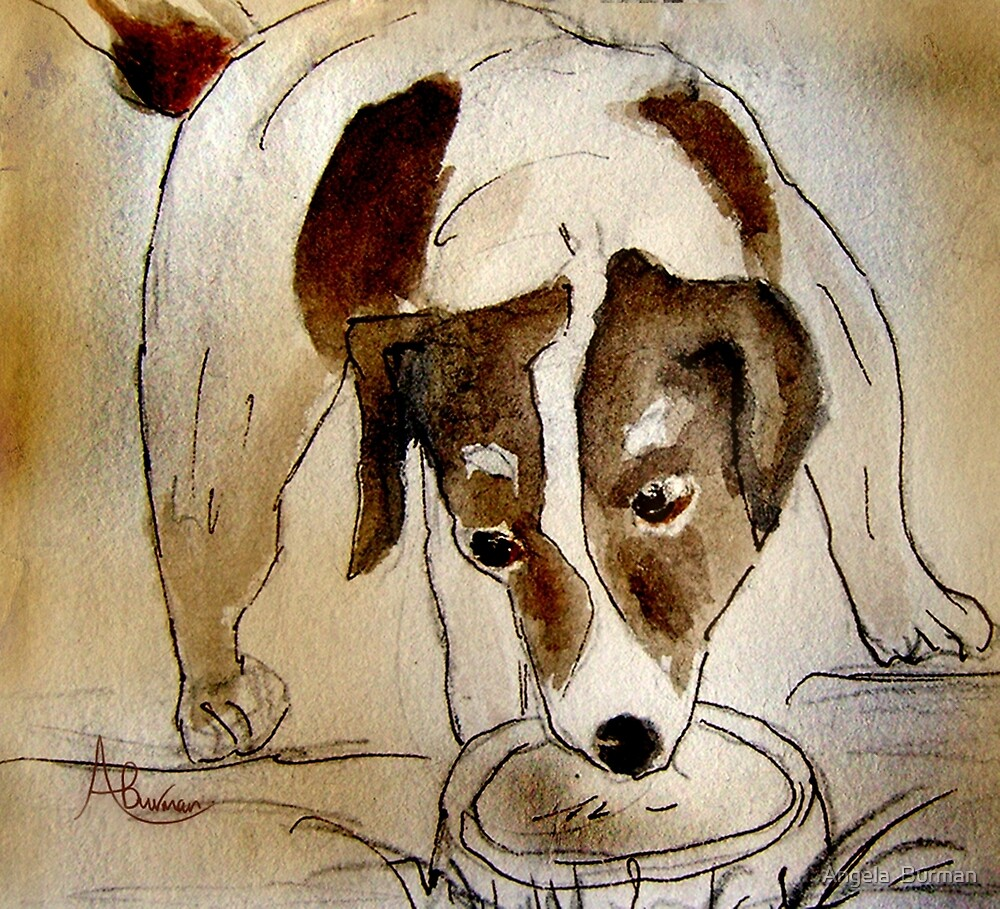 Thirsty Work by Angela  Burman