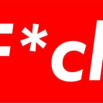 Supreme F*ck Logo by sanseffort
