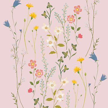 Dreamy Floral Pattern by artiisan