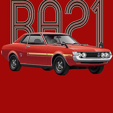 RA21 JDM Classic - Red by carsaddiction
