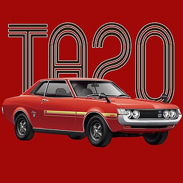 TA20 JDM Classic - Red by carsaddiction
