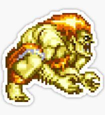 Blanka Street Fighter 2 Logo Sticker