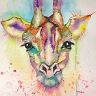 The Camp Giraffe Watercolour by Pasha  by goddamnmedia
