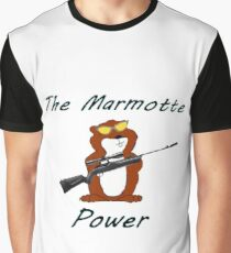 The Marmotte Power Graphic T-Shirt