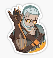 Salt Bae Geralt Sticker