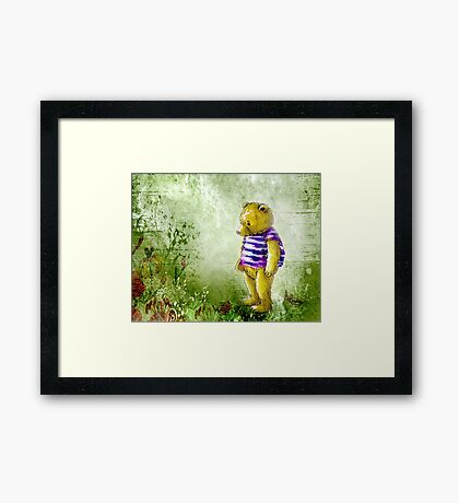 Botanical Bear Framed Print