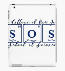 TCNJ School of Science  iPad Case/Skin