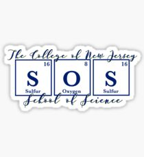 TCNJ School of Science  Sticker