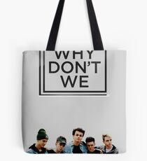 why dont we solide Tote Bag