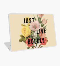 Just Live Boldly Laptop Skin