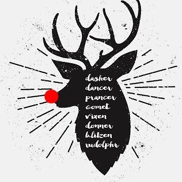 Meet the reindeer by fashprints