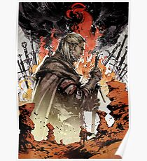 Geralt of rivia Artwork Poster
