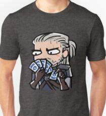 Geralt playing gwent Unisex T-Shirt