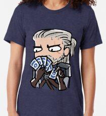 Geralt spielt Gwent Vintage T-Shirt