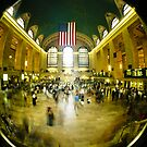 GRAND CENTRAL STATION MANHATTAN NEW YORK CITY USA UNITED STATES OF AMERICA by Jean Beaudoin