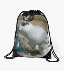First Christmas Drawstring Bag