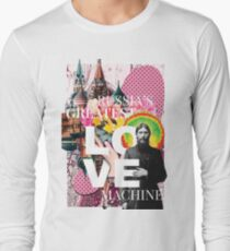 Russia's greatest love machine Long Sleeve T-Shirt