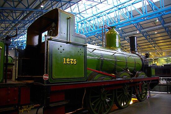 Old Steam Workhorse by Trevor Kersley