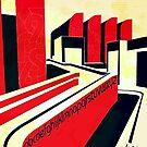 Bauhaus Art...geometric urban center  by edsimoneit